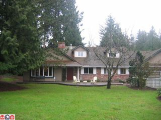 "Main Photo: 13768 32ND Avenue in Surrey: Elgin Chantrell House for sale in ""BAYVIEW ESTATES AREA"" (South Surrey White Rock)  : MLS®# F1117434"
