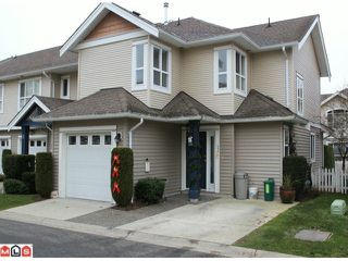 "Photo 1: 23 6513 200TH Street in Langley: Willoughby Heights Townhouse for sale in ""LOGIN CREEK"" : MLS®# F1129284"