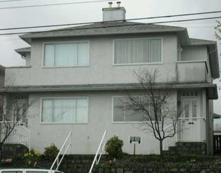 Photo 1: 4652 4650 VICTORIA DR in Vancouver: Victoria VE House Duplex for sale (Vancouver East)  : MLS®# V585322