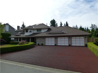 "Photo 1: 13264 20A Avenue in Surrey: Elgin Chantrell House for sale in ""BRIDLEWOOD ESTATES"" (South Surrey White Rock)  : MLS®# F1443165"
