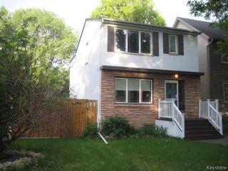 Photo 1: 312 Borebank Street in Winnipeg: River Heights Residential for sale (1C)  : MLS®# 1725204