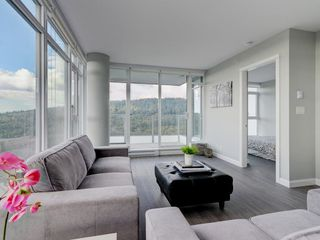 """Photo 6: 2202 520 COMO LAKE Avenue in Coquitlam: Coquitlam West Condo for sale in """"THE CROWN"""" : MLS®# R2215084"""