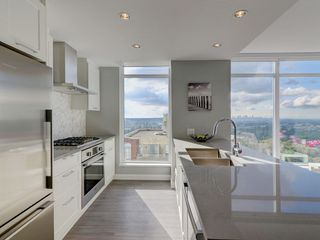 """Photo 2: 2202 520 COMO LAKE Avenue in Coquitlam: Coquitlam West Condo for sale in """"THE CROWN"""" : MLS®# R2215084"""