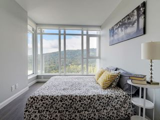"""Photo 9: 2202 520 COMO LAKE Avenue in Coquitlam: Coquitlam West Condo for sale in """"THE CROWN"""" : MLS®# R2215084"""