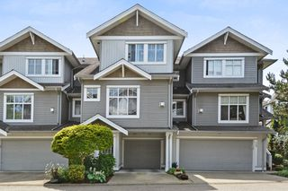"Photo 1: 37 16760 61 Avenue in Surrey: Cloverdale BC Townhouse for sale in ""HARVEST LANDING"" (Cloverdale)  : MLS®# R2282376"