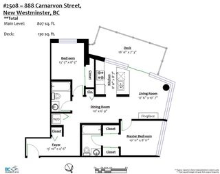 """Photo 20: 2508 888 CARNARVON Street in New Westminster: Downtown NW Condo for sale in """"MARINUS AT PLAZA 88"""" : MLS®# R2292806"""