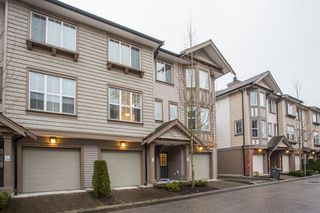 """Main Photo: 19 14838 61 Avenue in Surrey: Sullivan Station Townhouse for sale in """"Sequoia"""" : MLS®# R2322318"""