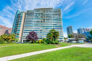 "Main Photo: 1201 1835 MORTON Avenue in Vancouver: West End VW Condo for sale in ""OCEAN TOWERS"" (Vancouver West)  : MLS®# R2351386"