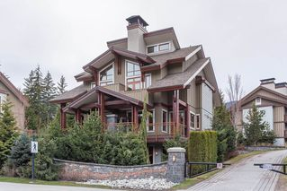 "Main Photo: 5 7124 NANCY GREENE Drive in Whistler: White Gold Townhouse for sale in ""Fitzsimmons Walk"" : MLS®# R2360954"