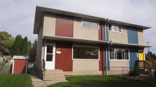 Main Photo: 4843 106 Street in Edmonton: Zone 15 House Half Duplex for sale : MLS®# E4209188