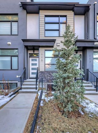 Photo 34: 115 408 27 Avenue NE in Calgary: Winston Heights/Mountview Row/Townhouse for sale : MLS®# A1054803