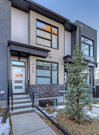 Main Photo: 115 408 27 Avenue NE in Calgary: Winston Heights/Mountview Row/Townhouse for sale : MLS®# A1054803