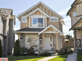 "Photo 1: 14850 56A Avenue in Surrey: Sullivan Station House for sale in ""PANORAMA"" : MLS®# F1110620"