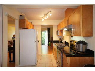 """Photo 3: 2749 ELLERSLIE Avenue in Burnaby: Montecito Townhouse for sale in """"CREEKSIDE"""" (Burnaby North)  : MLS®# V1065071"""