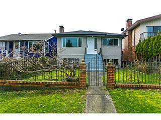 "Photo 1: 3128 E 1ST Avenue in Vancouver: Renfrew VE House for sale in ""RENFREW"" (Vancouver East)  : MLS®# V1108136"