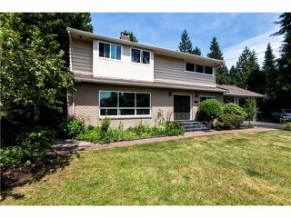 Main Photo: 1284 ELDON Road in North Vancouver: Canyon Heights NV House for sale : MLS®# V1129079