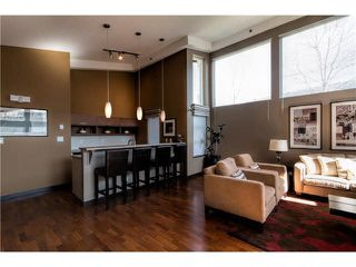 "Photo 3: 408 4783 DAWSON Street in Burnaby: Brentwood Park Condo for sale in ""COLLAGE"" (Burnaby North)  : MLS®# V1141834"