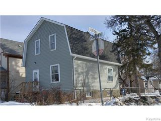 Photo 1: 593 Powers Street in Winnipeg: North End Residential for sale (North West Winnipeg)  : MLS®# 1604124