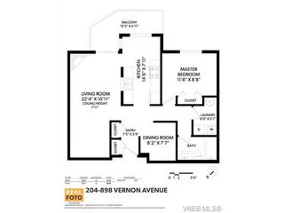 Photo 20: 204 898 Vernon Ave in VICTORIA: SE Swan Lake Condo for sale (Saanich East)  : MLS®# 753154