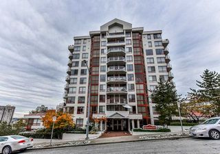 Main Photo: 801 220 ELEVENTH Street in New Westminster: Uptown NW Condo for sale : MLS®# R2223495