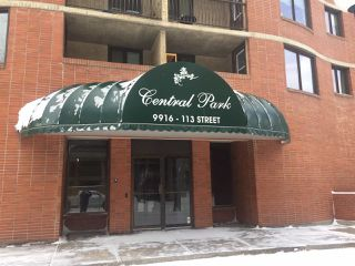 Photo 2: 703 9916 113 Street in Edmonton: Zone 12 Condo for sale : MLS®# E4098109