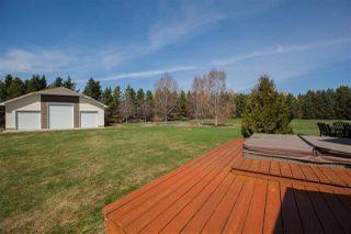 Photo 28: 41 54324 Bellerose Drive: Rural Sturgeon County House for sale : MLS®# E4148791