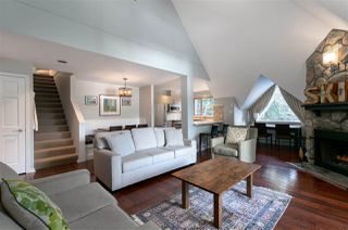 "Photo 1: 23 4636 BLACKCOMB Way in Whistler: Benchlands Townhouse for sale in ""GLENEAGLES"" : MLS®# R2435199"
