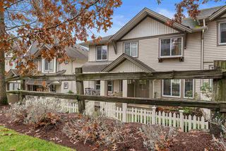 """Photo 1: 83 4401 BLAUSON Boulevard in Abbotsford: Abbotsford East Townhouse for sale in """"The Sage"""" : MLS®# R2518774"""