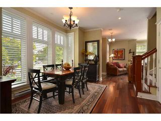 """Photo 4: 2010 W 1ST Avenue in Vancouver: Kitsilano Townhouse for sale in """"THE TOWNHOMES ON MAPLE"""" (Vancouver West)  : MLS®# V892191"""