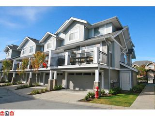 """Photo 1: 41 19330 69TH Avenue in Surrey: Clayton Townhouse for sale in """"Montebello"""" (Cloverdale)  : MLS®# F1123508"""