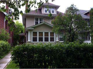 Photo 1: 323 Oxford Street in WINNIPEG: River Heights / Tuxedo / Linden Woods Single Family Detached for sale (South Winnipeg)  : MLS®# 1211024