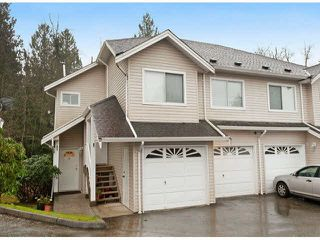 "Photo 1: 45 11588 232ND Street in Maple Ridge: Cottonwood MR Townhouse for sale in ""COTTONWOOD VILLAGE"" : MLS®# V1100890"