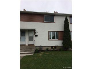 Photo 1: 44 Rampart Bay in WINNIPEG: Manitoba Other Residential for sale : MLS®# 1512951