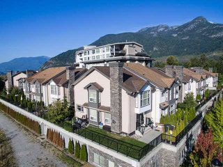 "Photo 1: 25 1204 MAIN Street in Squamish: Downtown SQ Townhouse for sale in ""AQUA AT COASTAL VILLAGE"" : MLS®# V1140937"