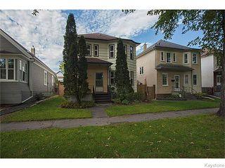 Main Photo: 1060 Sherburn Street in WINNIPEG: West End / Wolseley Residential for sale (West Winnipeg)  : MLS®# 1525115