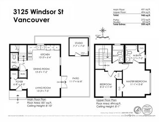 Photo 17: 3125 WINDSOR Street in Vancouver: Mount Pleasant VE House 1/2 Duplex for sale (Vancouver East)  : MLS®# R2069445