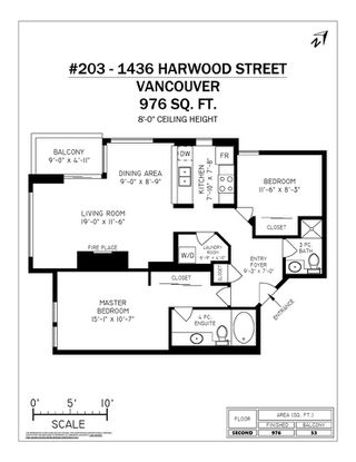 "Photo 19: 203 1436 HARWOOD Street in Vancouver: West End VW Condo for sale in ""HARWOOD HOUSE"" (Vancouver West)  : MLS®# R2315336"