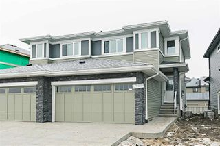 Main Photo: 6342 Cartmell Road in Edmonton: Zone 55 House Half Duplex for sale : MLS®# E4137237