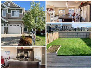 Photo 1: 7325 24 Avenue in Edmonton: Zone 53 House Half Duplex for sale : MLS®# E4198725