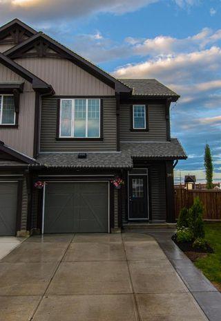Main Photo: 281 AUBURN MEADOWS Place SE in Calgary: Auburn Bay Duplex for sale : MLS®# A1014528
