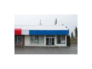 Photo 1: 2348 WESTWOOD Drive in PRINCE GEORGE: Westwood Commercial for lease (PG City West (Zone 71))  : MLS®# N4504768