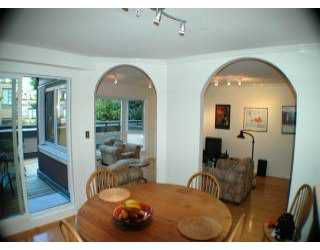 Photo 5: 203 1738 ALBERNI ST in Vancouver: West End VW Condo for sale (Vancouver West)  : MLS®# V601648