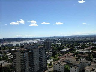 "Photo 1: 1702 615 BELMONT Street in New Westminster: Uptown NW Condo for sale in ""BELMONT TOWERS"" : MLS®# V1069402"