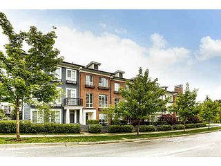 """Photo 1: 21 1237 HOLTBY Street in Coquitlam: Burke Mountain Townhouse for sale in """"TATTON"""" : MLS®# V1119874"""