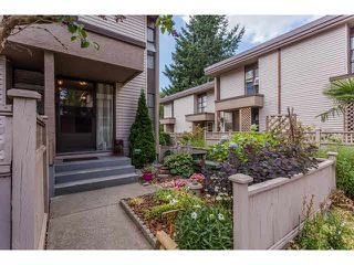 "Photo 1: 49 13809 102 Avenue in Surrey: Whalley Townhouse for sale in ""The Meadows"" (North Surrey)  : MLS®# F1447952"