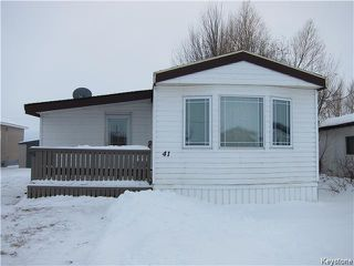 Photo 1: 41 Colorado Trailer Park in New Bothwell: Manitoba Other Residential for sale : MLS®# 1600283