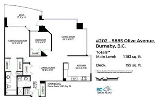 "Photo 20: 202 5885 OLIVE Avenue in Burnaby: Metrotown Condo for sale in ""THE METROPOLITAN"" (Burnaby South)  : MLS®# R2125081"