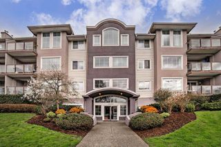 "Photo 1: 205 33599 2ND Avenue in Mission: Mission BC Condo for sale in ""STAVE LAKE LANDING"" : MLS®# R2158510"