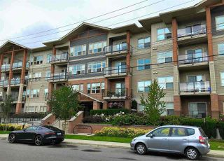 "Photo 1: 216 20219 54A Avenue in Langley: Langley City Condo for sale in ""SUEDE"" : MLS®# R2163721"