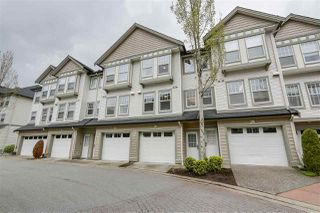 "Photo 1: 31 8638 159 Street in Surrey: Fleetwood Tynehead Townhouse for sale in ""SAGEWOOD"" : MLS®# R2265409"